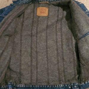 Vintage Levi's Blanket Lined Denim Jean Jacket 46